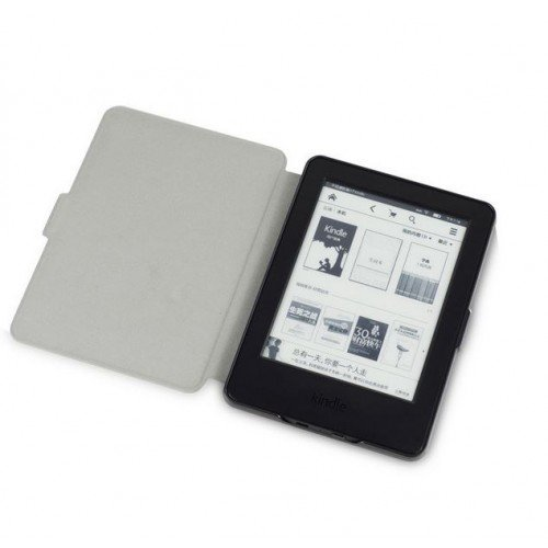 Калъф Vintage book за Kindle Touch 2014, Черен