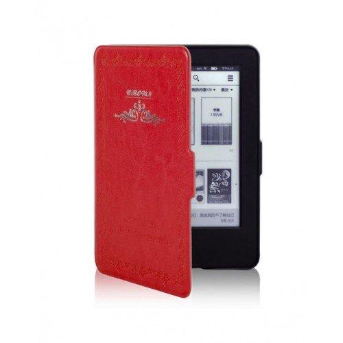 Калъф Vintage book за Kindle Touch 2014, Червен