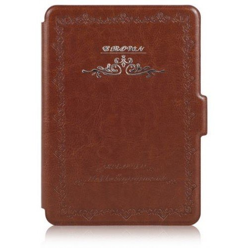 Калъф Vintage book за Kindle Touch 2014, Кафяв