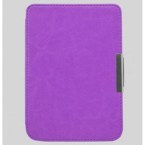 Луксозен калъф за Pocketbook Mini 515, Лилав