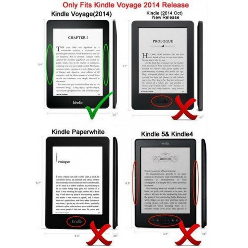 Калъф Smart за Kindle Voyage, Лилав