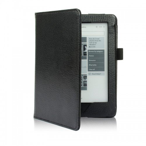 Калъф Magnetic за Kobo Glo HD, Черен