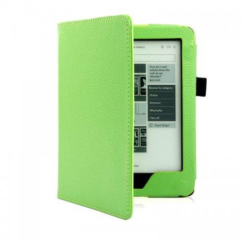 Калъф Magnetic за Kobo Glo HD, Зелен