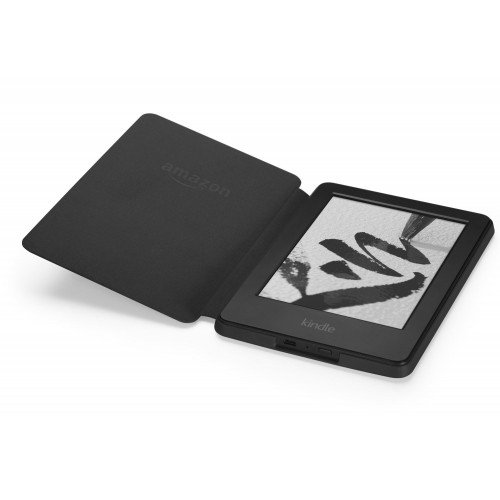 Original Leather Cover за Kindle Glare, Черен
