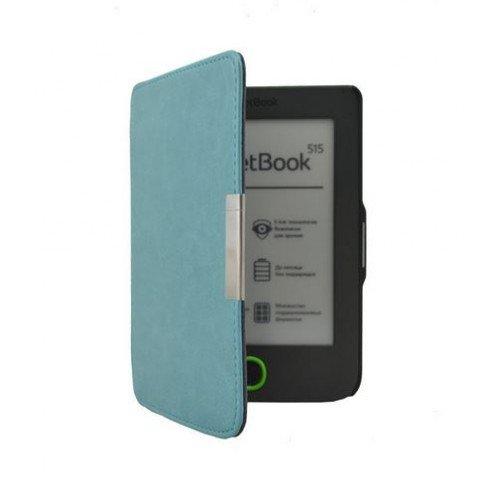 Луксозен калъф за Pocketbook Mini 515, Синьо-зелен