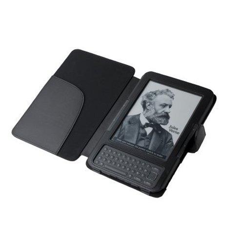 Калъф за Kindle 3 Keyboard с магнитно закопчаване, Черен