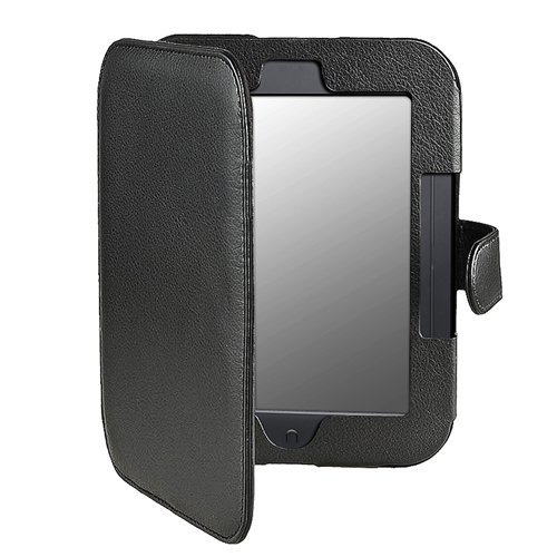 Калъф за Nook Simple Touch/Glowlight с магнитно закопчаване, Черен