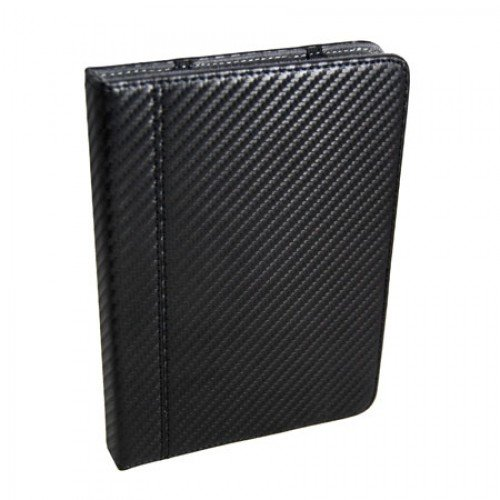 Калъф M-EDGE за Kindle 4/5/Touch/Kobo, Карбон