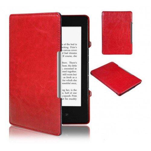 Калъф Premium Magnetic за Kindle 4/5, Червен