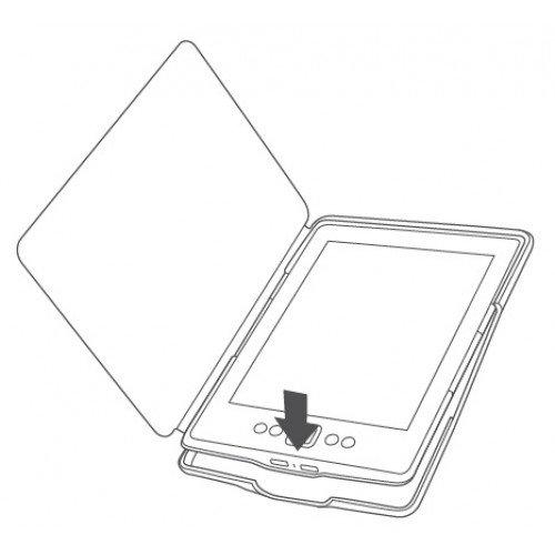 Калъф Premium Magnetic за Kindle 4/5, Лилав