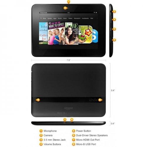 Amazon Kindle Fire HD 7 32 GB 1st gen, Черен