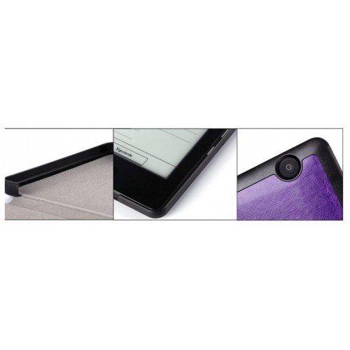 Калъф Premium Magnetic за Kindle Voyage, Синьо-зелен