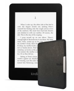 Amazon Kindle Paperwhite 2, Черен + Калъф Business