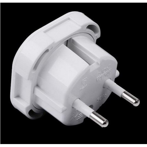 Зарядно устройство, EU към UK plug, Бял