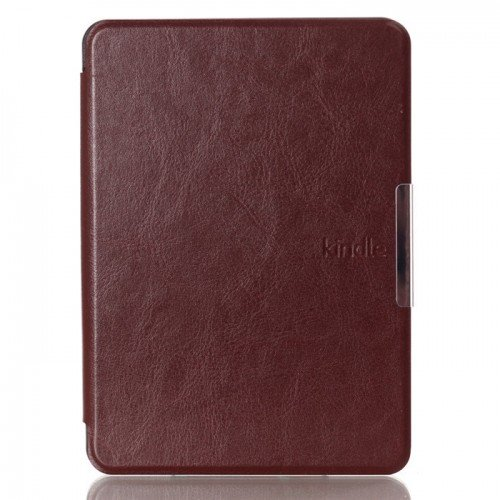 Калъф Premium за New Kindle Touch 7th 2014, Тъмнокафяв