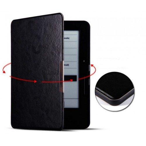 Калъф Premium Magnetic за Kindle Voyage, Черен