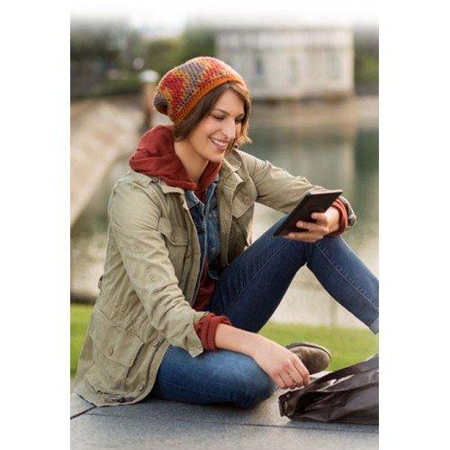 Kindle Glare 6 (2014), WiFi, 7th Gen, Черен + Калъф Premium
