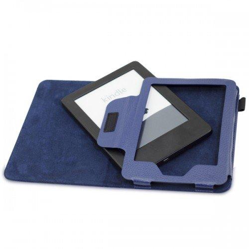 Калъф за Kindle Glare 2014 и Kindle Touch 1st gen, Тъмносин