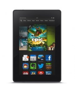 "Amazon Kindle Fire HD 7"" 8GB 2nd gen, Черен"