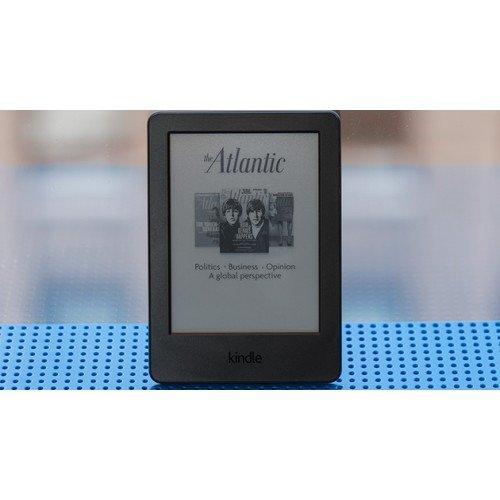 Kindle Glare 6 (2014), WiFi, 7th Gen, Черен + Калъф Smart