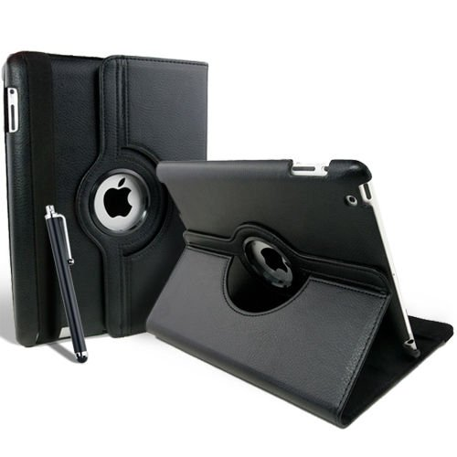 """Калъф 360 за Kindle Fire HDX 7"""", Черен"""