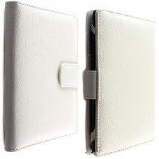 Калъф за Kindle 4/5, Kindle Glare 2014 и Kobo Touch с магнитно закопчаване, Бял