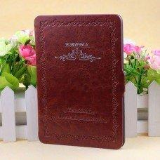 Калъф Vintage Book за Kindle Paperwhite, Кафяв
