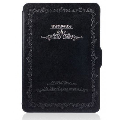 Калъф Vintage Book за Kindle Paperwhite, Черен