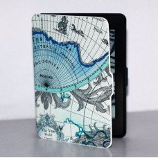 Калъф Smart за Kindle Paperwhite, Blue globus