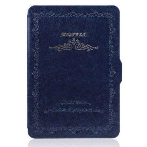 Калъф Vintage Book за Kindle Paperwhite, Син