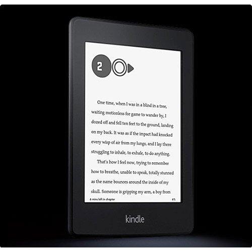 Amazon Kindle Paperwhite 2, Черен + Калъф Business