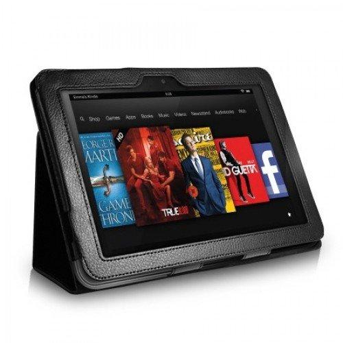 """Класически калъф за Kindle Fire HD 8.9"""", Черен"""