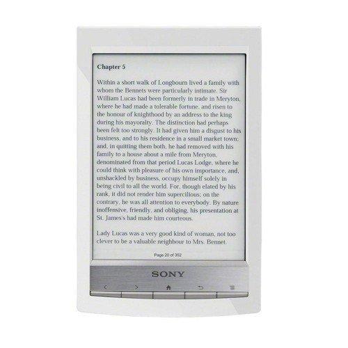 Sony PRS-T1, Бял
