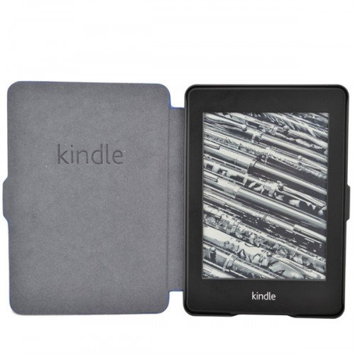 Калъф Smart за Kindle Paperwhite, Тъмносин