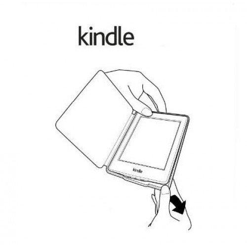 Калъф Smart за New Basic Kindle 2016, Червен