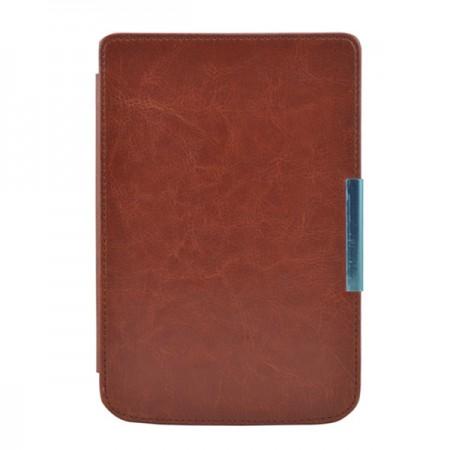 Калъф Premium за Pocketbook 614/ 614-2/ 615/ 616/ 624/ 625/ 626/ 640/ 641, Кафяв