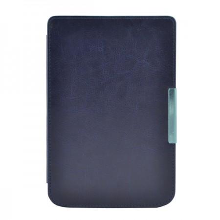 Калъф Premium за Pocketbook 614/ 614-2/ 615/ 616/ 624/ 625/ 626/ 640/ 641, Тъмносин