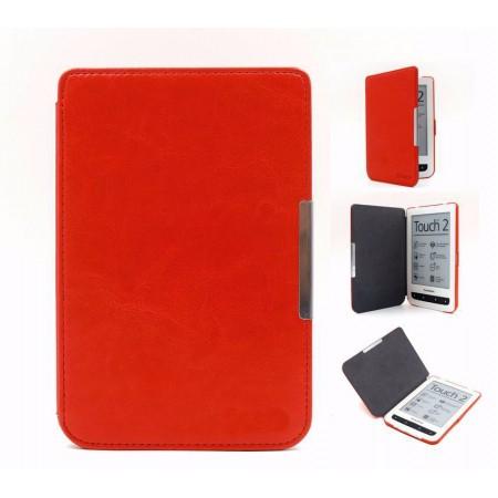 Калъф Premium за Pocketbook 614/ 614-2/ 615/ 616/ 624/ 625/ 626/ 640/ 641, Червен