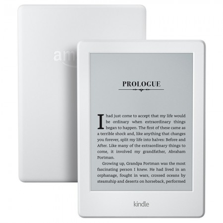 Kindle 6 Glare(2016), 8th Gen, Touch, Wi-Fi, Бял