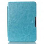 Калъф Premium Magnetic за Kindle Voyage - синьо-зелен