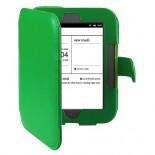 Калъф за Nook Simple Touch/Glowlight с магнитно закопчаване - зелен